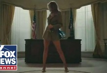 Melania Trump depicted as stripper in rap music video