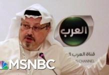 Politico: Senators Seeking Bipartisan Sanctions In Jamal Kashoggi Case | Hardball | MSNBC