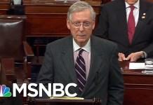 Seator Elizabeth Warren Hits Back At John F. Kelly Insult   All In   MSNBC