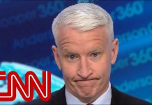 See Anderson Cooper's reaction to Trump's take on 'proof'