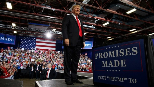 Watch Live: Trump hosts 'MAGA' rally in Florida