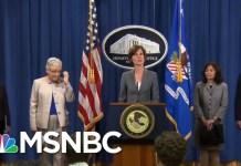 Panicked By Democrats, Donald Trump Installs Loyalist To Top DoJ Spot | Rachel Maddow | MSNBC