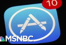 Supreme Court Case Claims Apple's App Store Holds Illegal Monopoly | Andrea Mitchell | MSNBC