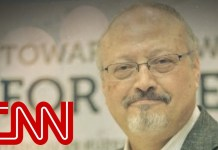 Who does President Trump believe in Jamal Khashoggi's death?