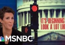 Congressional GOP Saves Room For Cheese Amid Shutdown Crisis | Rachel Maddow | MSNBC