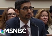 Monopoly Man Not Most Cartoonish Character At Google Hearing | All In | MSNBC