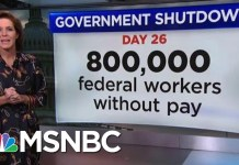 How Much Money Have Americans Lost From The Shutdown? | Velshi & Ruhle | MSNBC