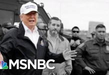President Trump: I Never Said Mexico Would Directly Pay For A Wall (He Did) | The 11th Hour | MSNBC