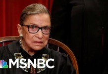 Justice Ginsburg Misses Supreme Court Oral Arguments For First Time | MSNBC