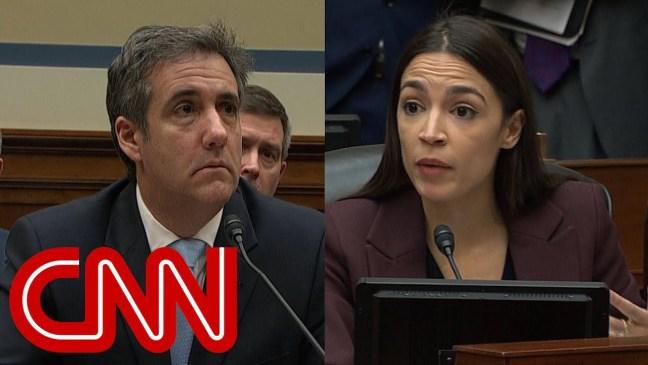 Alexandria Ocasio-Cortez grills Cohen on Trump finances