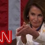 Nancy Pelosi's clapback steals Trump's show