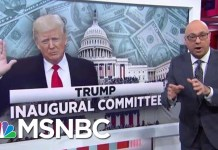 Should President Trump Be Worried About The Inaugural Committee Probe? | Velshi & Ruhle | MSNBC