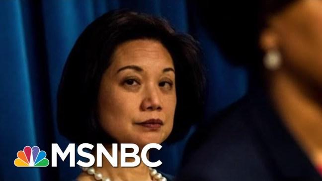 President Trump DOJ Maneuver Would Allow Him To Replace Key Prosecutor   Rachel Maddow   MSNBC