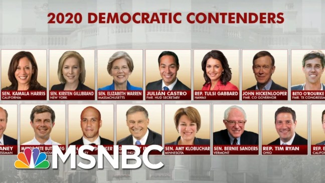 Crowded First-Quarter Field Leads To Lower Dem Fundraising   Morning Joe   MSNBC