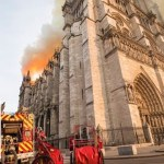 Live: French Interior Minister tours Notre Dame area after massive blaze