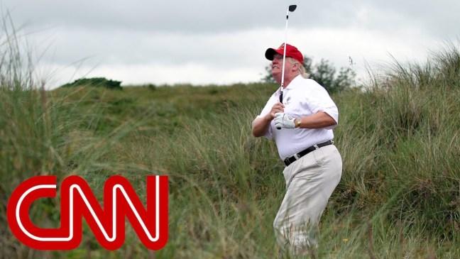 Sportswriter: Trump 'cheats like a mafia accountant' at golf