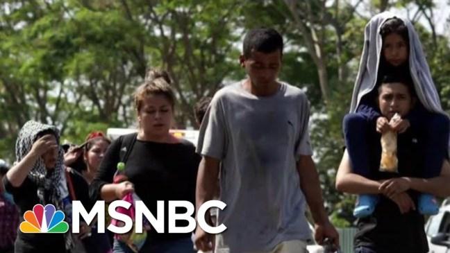 Donald Trump Administration Sending More Personnel To U.S.-Mexico Border   Craig Melvin   MSNBC