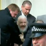 Watch police drag Assange out of Ecuadorian Embassy in handcuffs