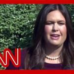 Sarah Sanders slams Dems as Barr skips House questioning
