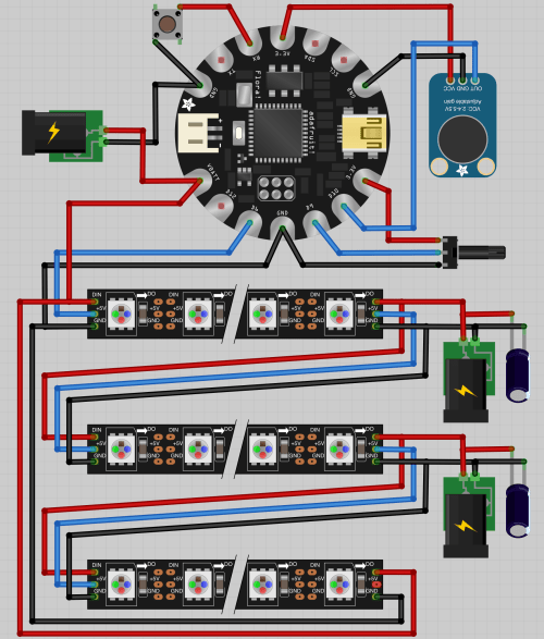 small resolution of room lights diagram note the neopixels image has the data and 5v switched