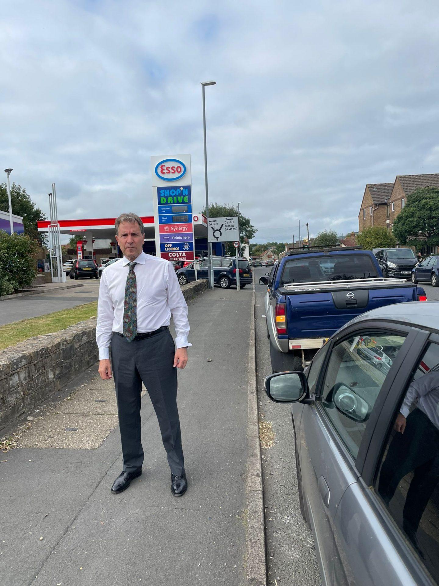 Dan Norris Petrol Station
