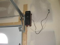 Side Mount Garage Door Opener for Comfortable