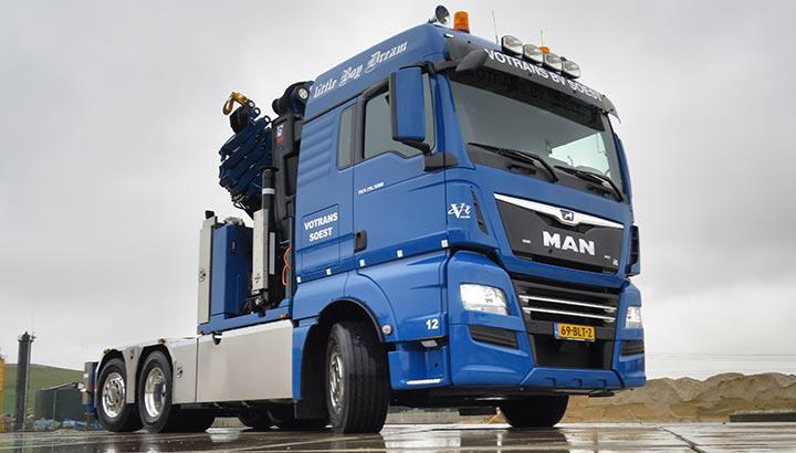 Votrans Soest B.V. MAN 28.506 BL bakwagen/trekker