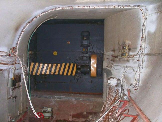 porte blindée ligne d6 métro 2 moscou