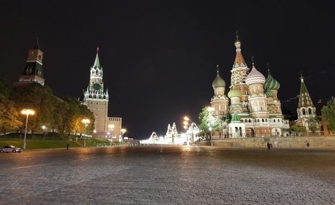 Place Rouge Moscou Kremlin Cathedrale