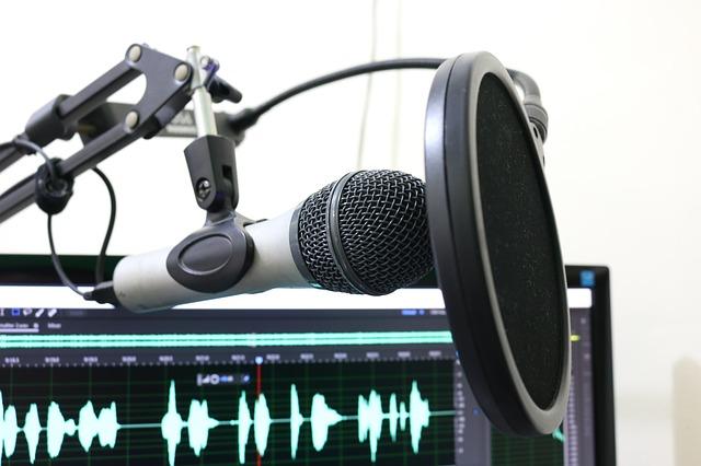 Microphone avec filtre anti Pop