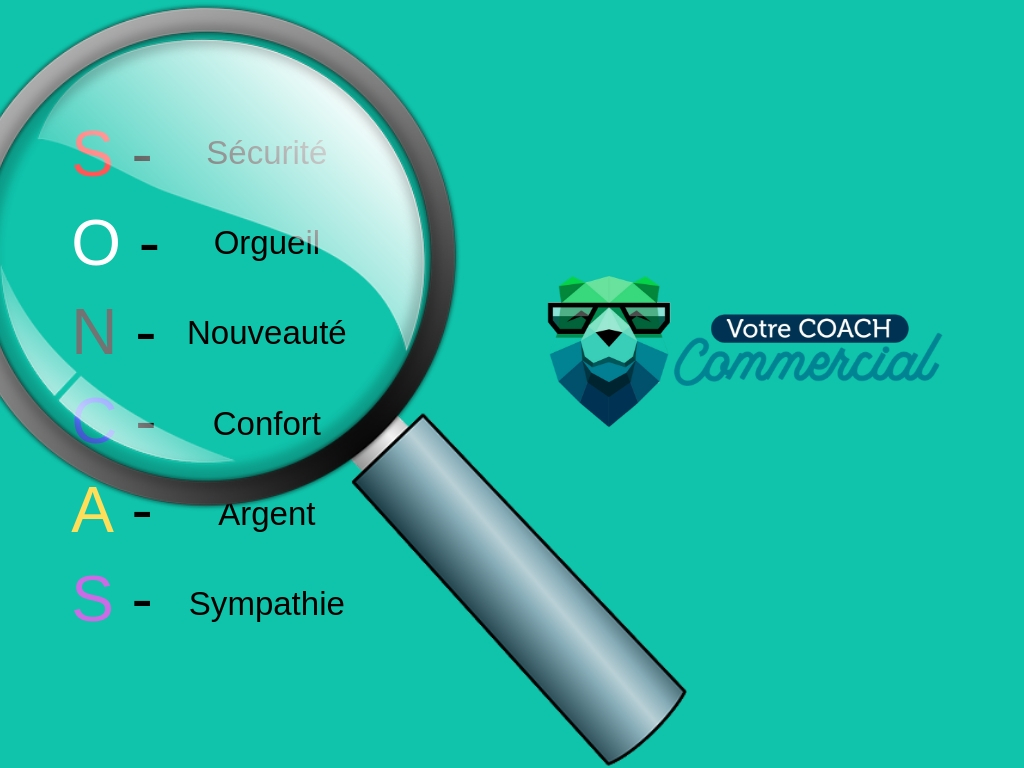 Découvrez les motivations d'achat de votre client avec la méthode SONCAS