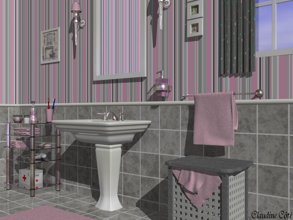 Idee Deco Salle De Bain Noir Et Gris | Salle Bain Blanche Et Grise ...