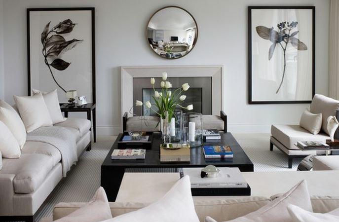 Deko Modern | Déco Salon Moderne Blanc