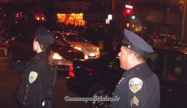 Jamais vu les flics autant sur les dents dans les rues de San Francisco