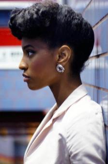 Pompadour Afro