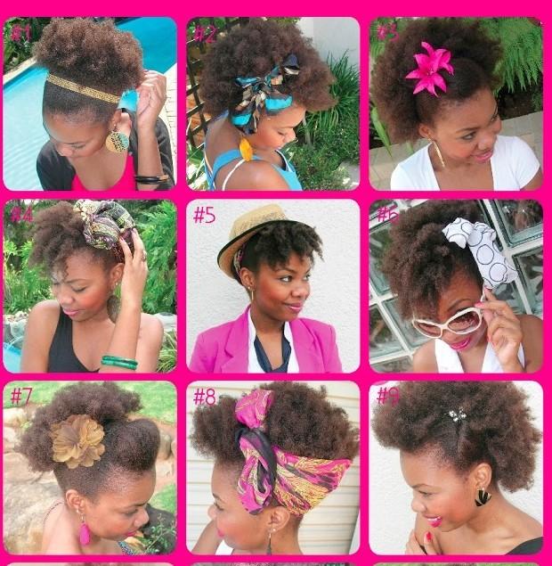 Des milliers d'idées de coiffures pour les cheveux crépus
