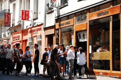 Rue Sainte Anne Quartier Japonais de Paris