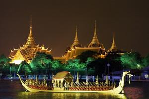 thailande, bangkok, grand palais