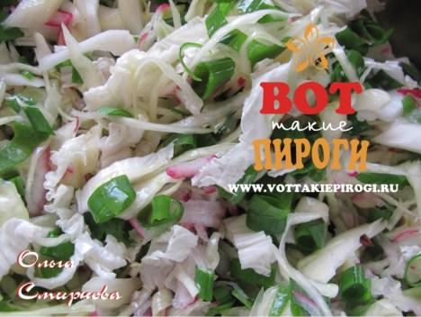 салат капустный рецепт