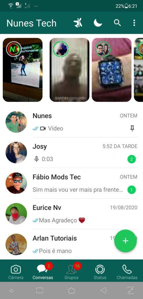 Aero WhatsApp 8.40