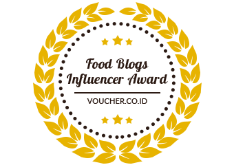 Banners for Food Blogs Influencer Award