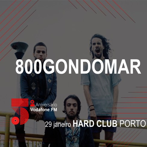 800Gondomar@Hard Club - Porto