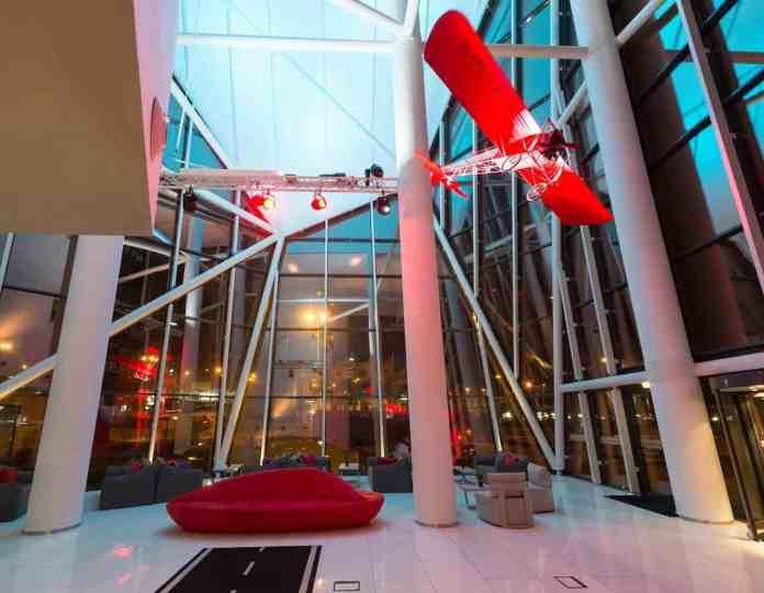 Hall do Tryp Lisboa Aeroporto