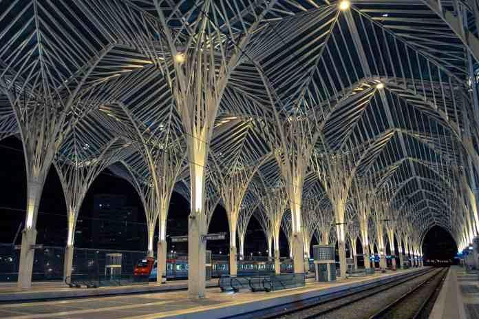 Estação de comboios Lisboa oriente