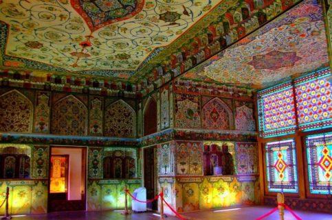 Palácio de Shaki Khans, Azerbaijão