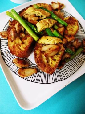 Savory French Toast @ Unepeach 13