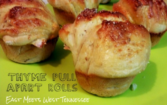 Thyme Pull Apart Rolls