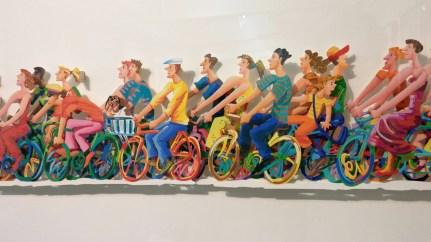 Biking A + B David Gerstein