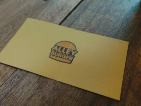 Alley Burgers Card
