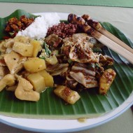 Paon Cooking Class Ubud plate